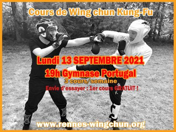 Reprise des cours de Kung-Fu Wing Chun